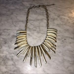 Jewelry - Gold and Cream Necklace
